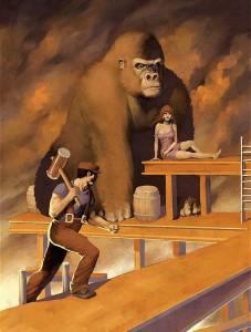 Realistic Donkey Kong