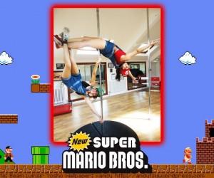 emy bex mario pole dancing