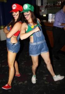 emy bex mario pole dancing 2