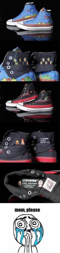 mario converse shoes