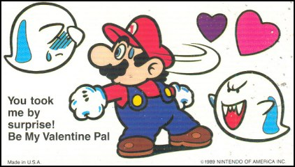Bowsers Blog 9 wicked SMB2 facts and other things – Mario Bros Valentine Cards