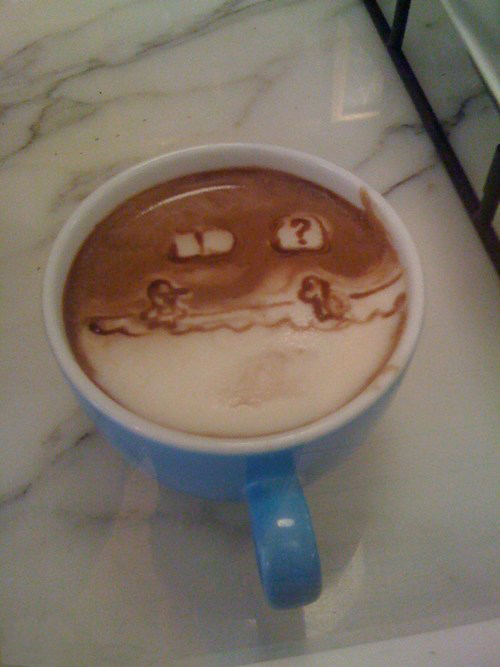 Super Mario Coffee