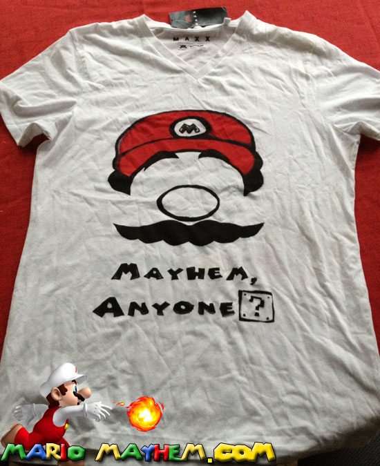 mariomayhem t-shirt front