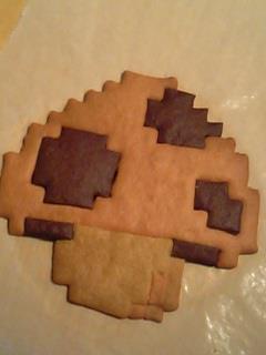 mushroom cookie