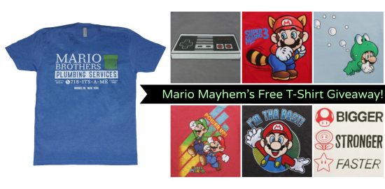 mario mayhem fb t shirt contest