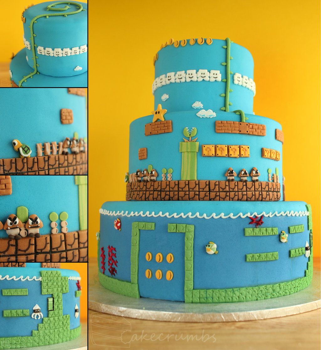 15 Of The Best Super Mario Cakes Ever 13 15 Of The Best Super Mario Cakes Ever 14