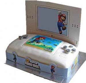 Mario ds cake