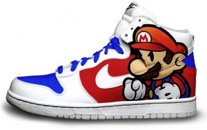 Paper mario sneakers