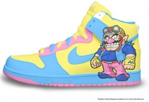 Wario sneakers