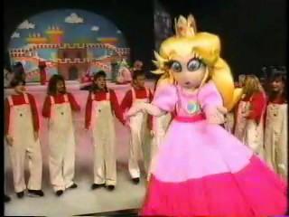 icecapades  Princess Toadstool costume