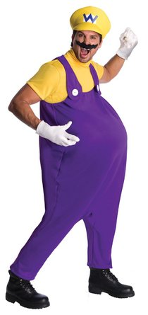 official nintendo wario costume