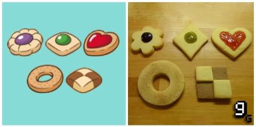 real life Yoshi's Cookies