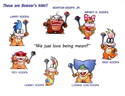 Koopalings names