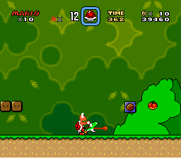 Super Mario World Koopa Troopa yoshi