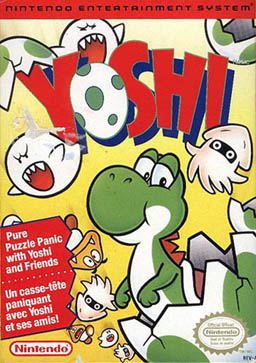 Yoshi nes game cover