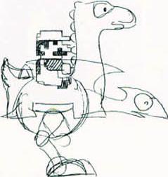 Yoshi concept art