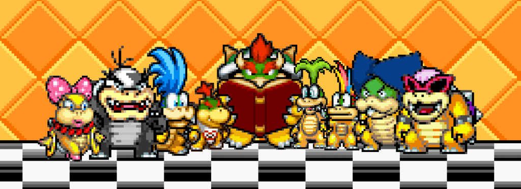 bowser reading for koopalings