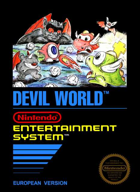 nes devil world tamagon