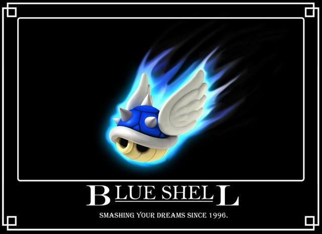 Blue Shell Origins