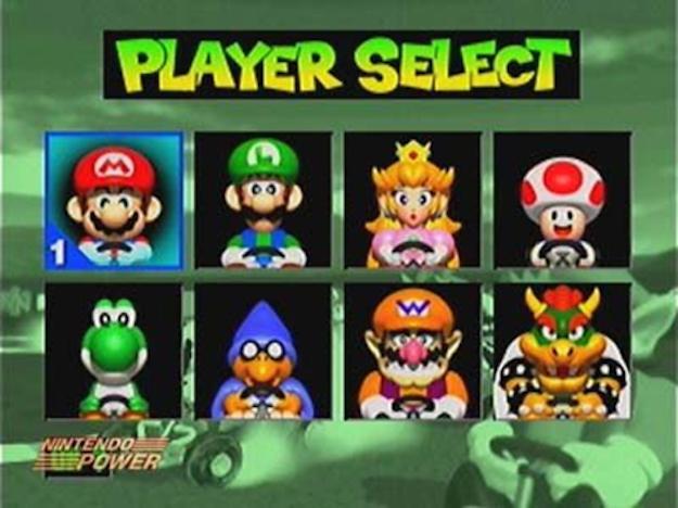mario kart 64 playable character kamek