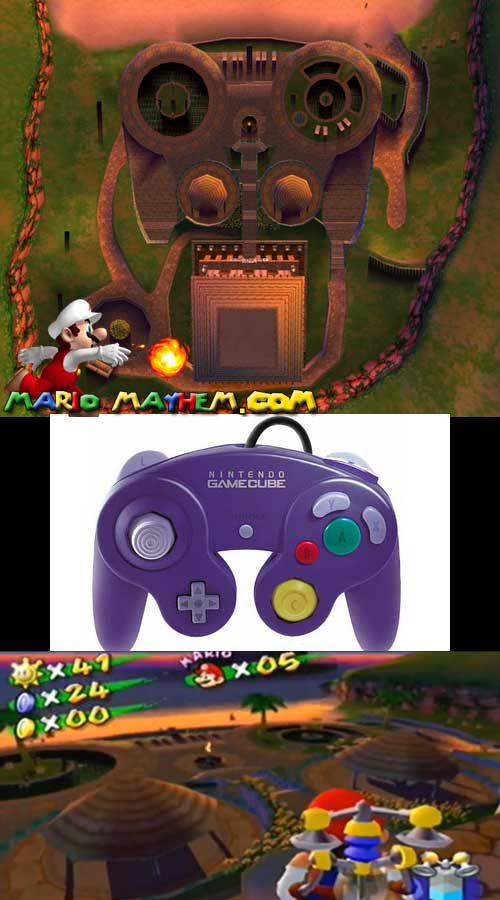 sirena beach gamecube controller mm