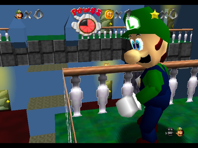 Luigi's Mansion 64 (alpha)