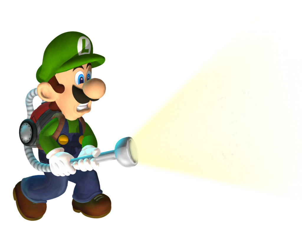 luigi's mansion render