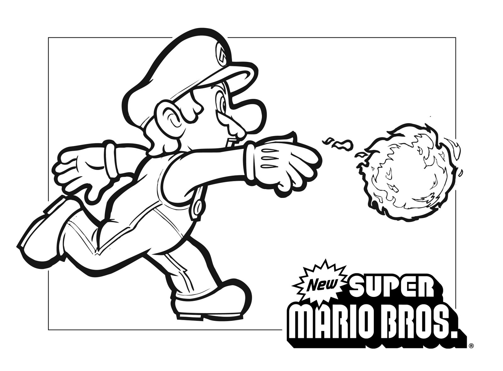 As per usual if you see a super mario coloring page that isn't here